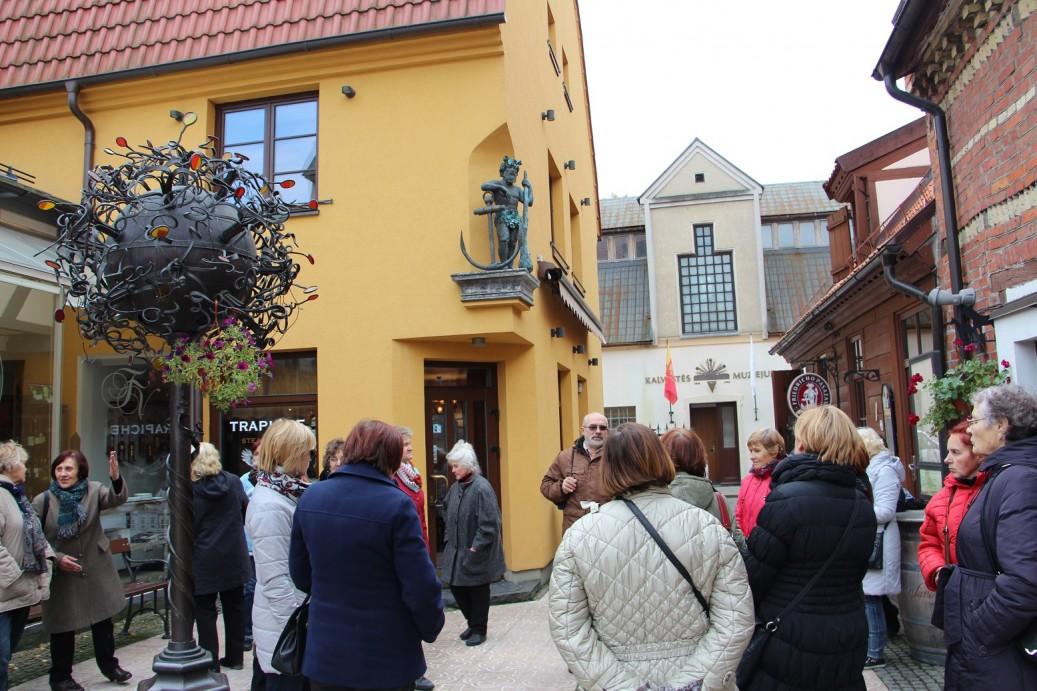 Klaipėdos senamiestyje
