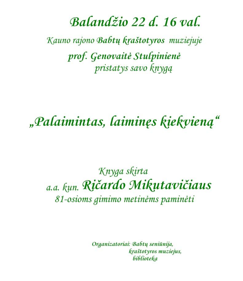 R.Mikutavičius